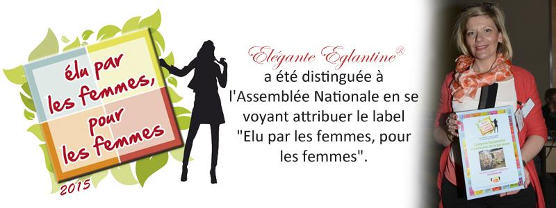 label élu par les femmes, pour les femmes